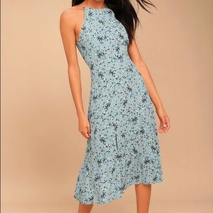 ASTR the label XS Pascal Midi Dress